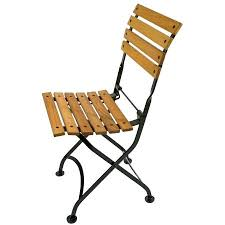 Folding Bistro Chairs Stupendous Folding Bistro Chair Novoch Me