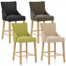 tabouret chaise de bar chaise de bar bois cuir sydney chêne monde du tabouret