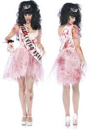 wow zombie putrid high prom queen halloween costume day of