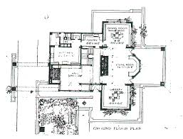 frank lloyd wright prairie style house plans prairie style homes