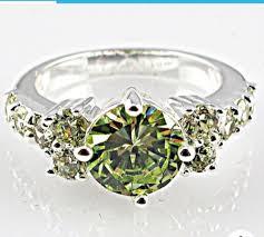 gemstones rings images 925 sterling silver green amethyst white topaz gemstones ring jpg