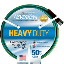 neverkink 5 8 in dia x 50 ft heavy duty water hose 8605 50 the
