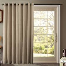 backyard and garden decor grey sliding door window treatments