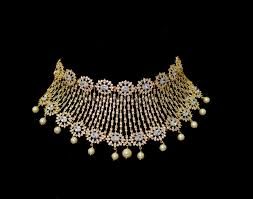 gold necklace fine jewelry images Sri fine jewellery designs south india jewels jpg