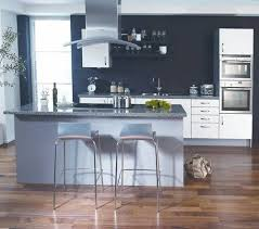 Kitchen Paint With Oak Cabinets by Engaging Blue Kitchen Wall Colors Paint With Light Cabinets 4 Jpg