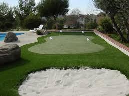 How To Make A Putting Green In Your Backyard Artificial Grass Putting Greens Phoenix Az Sunburst Landscaping