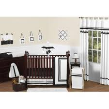 Black And White Crib Bedding Set Black Crib Bedding From Buy Buy Baby