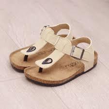 aliexpress com buy kids cork sole clogs 2017 vintage kids summer