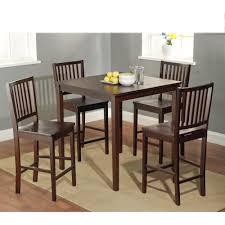 shaker counter height 5 piece dining set overstock com shopping