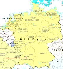 Alsace Lorraine Map Map Of Germany And Belgium World Maps