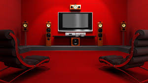 Red Living Room by Image For Simple Movie Room Ideas Wallpaper Free Desktop Things