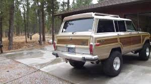 jeep grand wagoneer 1989 jeep grand wagoneer update youtube