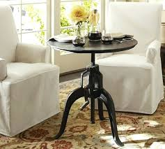 side table 30 high side table 30 inch high round side table 30