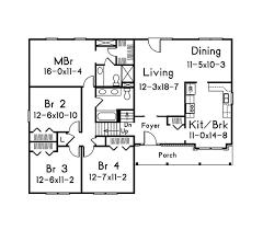 bi level house floor plans 16 best split level floor plans images on house design