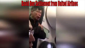 United Airlines Excess Baggage David Dao Settlement From United Airlines 300 Million Youtube