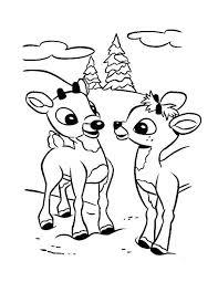reindeer antlers coloring sheets deer head pages printable