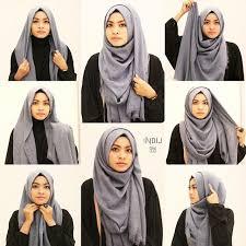 simple hijab styles tutorial segi empat hijab inspiration for oval face