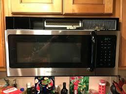 kitchenaid microwave hood fan kitchenaid microwave range hood fan cover keeps falling off com
