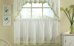 Curtains In The Kitchen by Curtains White Cafe Curtains For Kitchen Wonderful Lace Kitchen