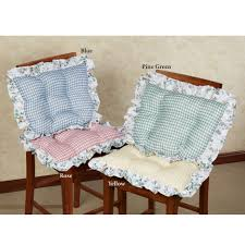 kitchen beautiful bar chair cushions plaid chair pads small seat