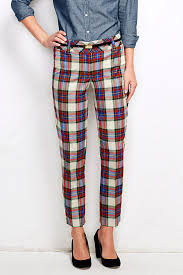 good life of design how to wear plaid pants