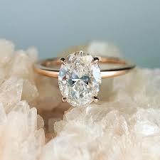oval engagement rings gold trabert goldsmiths oval engagement ring engagement wedding