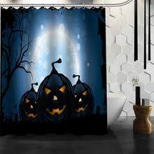 online get cheap halloween shower curtains aliexpress com