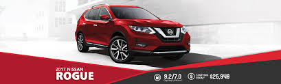 red nissan rogue 2017 nissan rogue village nissan