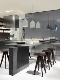 Modern Designer Kitchens Kitchen Of The Day Modern Kitchen With Luxury Appliances Black