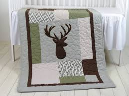 Baby Deer Crib Bedding Deer Crib Bedding Deer Crib Quilt Deer Baby Blanket Deer