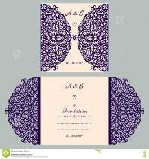 Marriage Invitation Card Templates Free Download Die Cut Wedding Invitation Card Template Paper Cut Out Card With