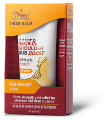 Neck To Shoulder - tiger balm