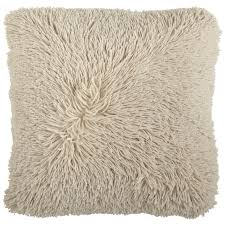 oversized pillows for bed oversized shaggy tan pillow pier 1 imports