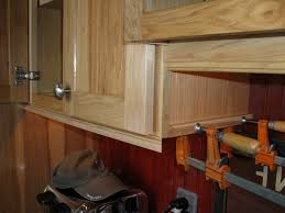 kitchen cabinet installing crown molding on cabinets installing
