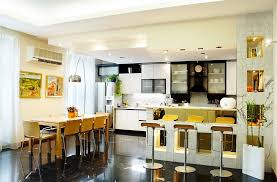 interesting open kitchen dining room designs living combo image