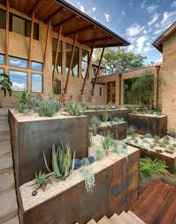 how to turn a steep backyard into a terraced garden