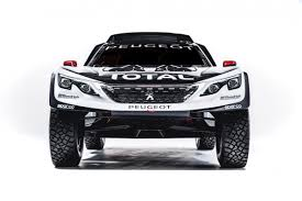 peugeot sport car peugeot targets 2017 dakar rally victory with new 3008 dkr