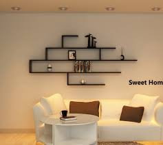 Install Heavy Duty Shelf Brackets In Concrete The Homy Design - wall mounted metal shelving style wall display shelves design
