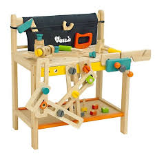Boys Wooden Tool Bench Kids Wooden Tool Bench Children Wooden Work Bench Educational Toys