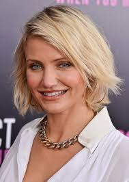bob hairstyle for 40 best short bob hairstyles for women over 40 cameron diaz short