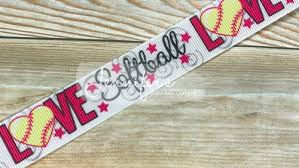 softball ribbon 7 8 softball ribbon i softball sports ribbon s