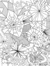 geometric coloring pages coloring pages difficult coloring