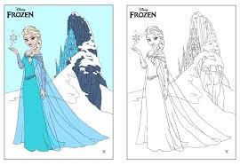 coloring pages frozen elsa let it go coloring pages elsa frozen healtylife club