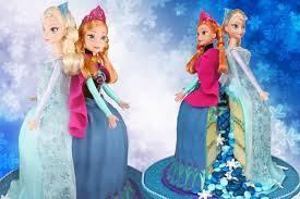 elsa anna frozen princess cake
