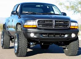 dodge dakota performance suspension lifted dodge dakota truck xdc series 3 suspension lift kit