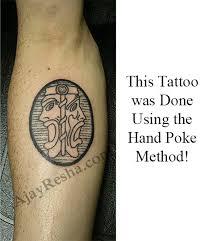 leonardo davinci anatomy sketch tattoo done by ajay resha