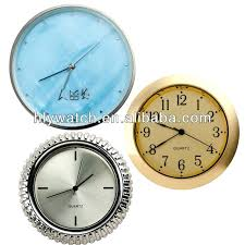 small table clocks dial small silver quartz clock inserts for crafts simple design desk clocks inserts small table clocks