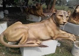 lioness sculpture fiberglass lioness sculpture plutus