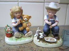 home interior denim days figurines home interiors denim days figurines ebay