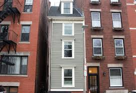 narrowest house in boston boston s skinny house sells for 900 000